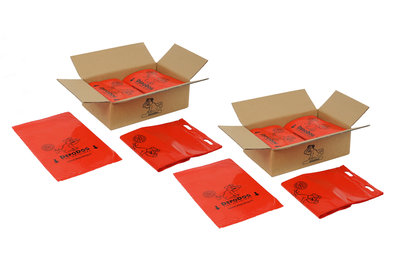 Dog poop bags 1600 pcs. Red DepoDog